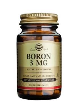 Boron 3 mg Vegetable Capsules
