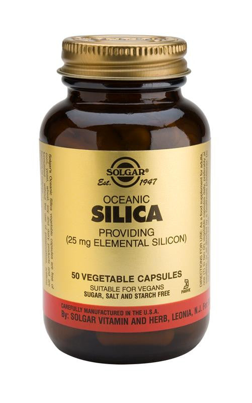 Oceanic Silica 25 mg Vegetable Capsules