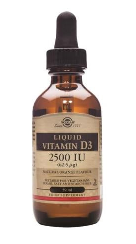 Vitamin D3 2500iu Liquid - 59ml