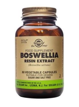 Boswellia Resin Extract Vegetable Capsules