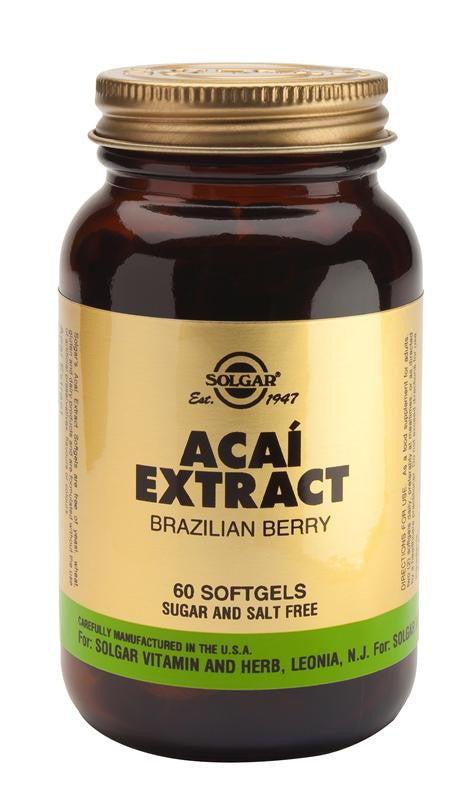 Acai Extract Softgels - 60 Softgels