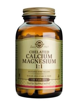 Chelated Calcium Magnesium 1:1 Tablets