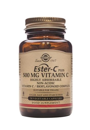 Ester-C(R) Plus 500 mg Vitamin C Vegetable Capsules