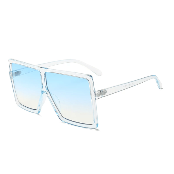 BossChic ombre blue sunglasses - IvyChic Boutique