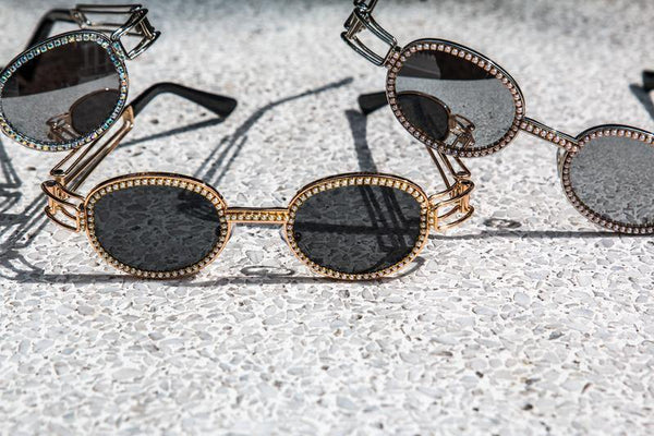 Gold Pearl Sunglasses - IvyChic Boutique