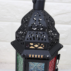Castle Hollow Out Candle Holder | Iron Art Candle Stick Holder - TOPRO Designs | Home Decor