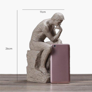 Sandstone Thinker Statuette - TOPRO Designs | Home Decor