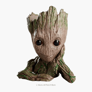 Baby Groot Doll Pen Holder or as Plants Flower Pot - TOPRO Designs | Home Decor
