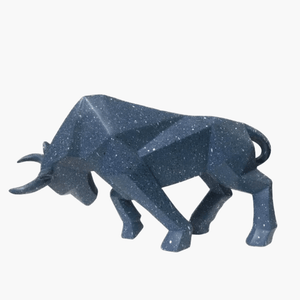 Bison / Ox Abstract Sculpture - TOPRO Designs | Home Decor