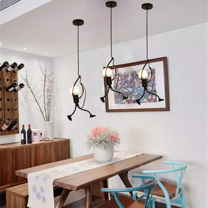 Modern Creative Climbing People Pendant Lights - TOPRO Designs | Home Decor