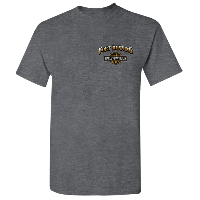 Fort Benning Bridge Men's Short Sleeve Shirt