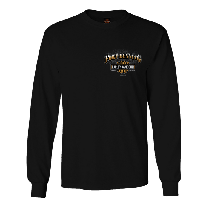 Fort Benning Bridge Men's Long Sleeve Shirt