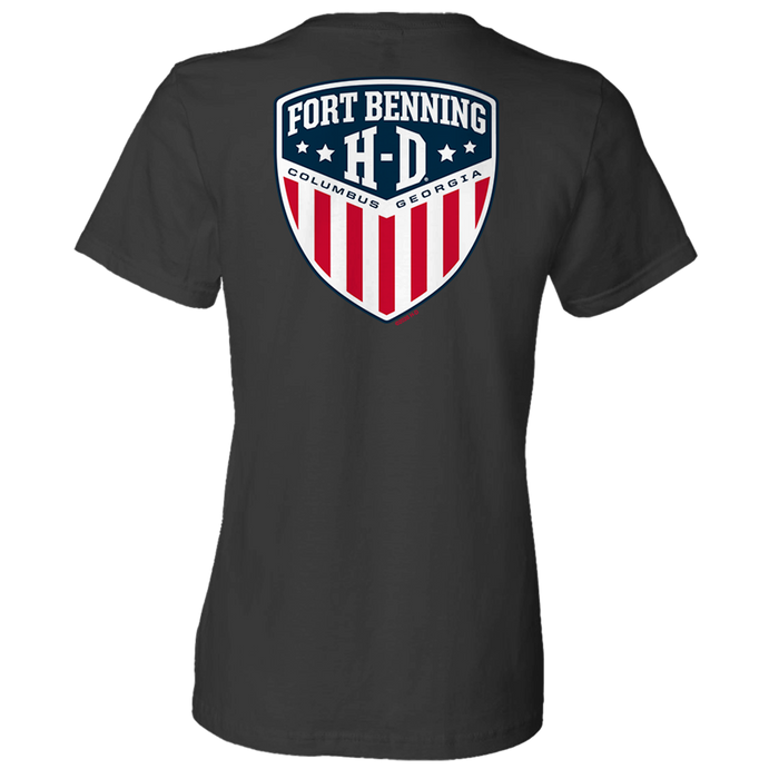 Fort Benning Logo Women's Short Sleeve Shirt