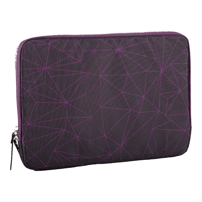 "AVITA LIBER 14"" 手提電腦包 (Black and Purple Geometric)"