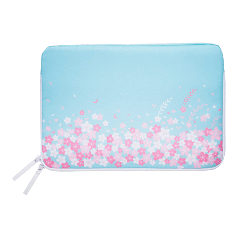 "AVITA LIBER 14"" 手提電腦包 (Cherry Blossom Pattern on Light Blue)"