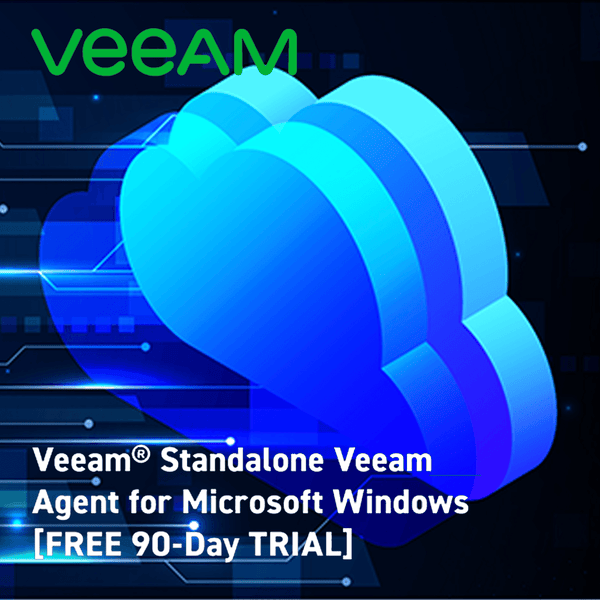 Veeam® Standalone Veeam Agent for Microsoft Windows [FREE 90-Day TRIAL]