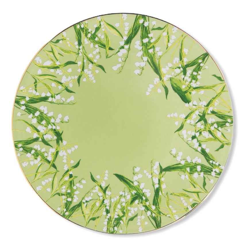 Lily of the Valley Charger/Service Plate