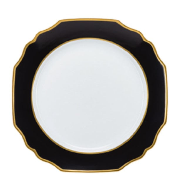 Black and Gold Charger/Service Plate