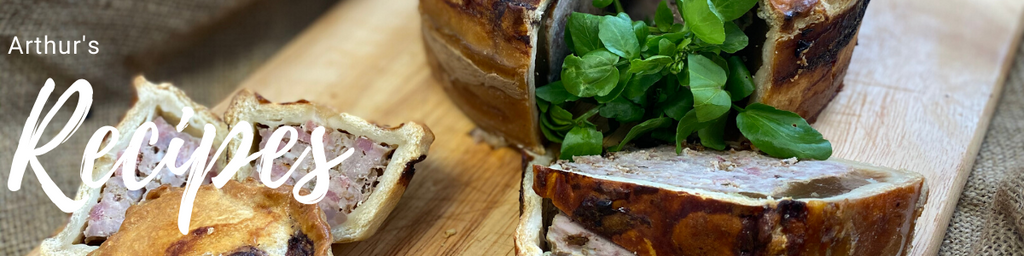 Homemade Sharing Pork Pie