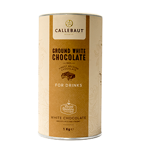 Ground White Drinking Chocolate 20.6% (1kg)