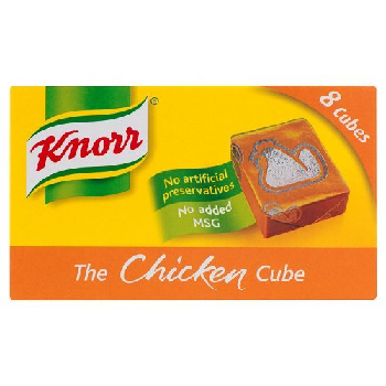 CHICKEN STOCK CUBES KNORR (X8)