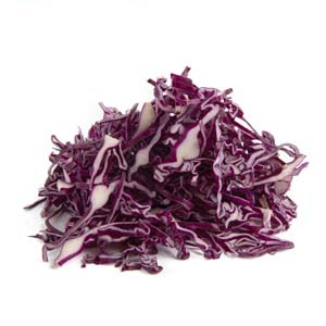 6mm Sliced Red Cabbage (250g)
