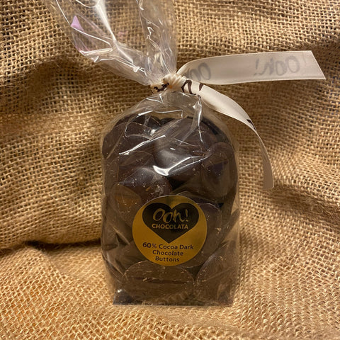 Dark Chocolate Buttons 60% (190g)