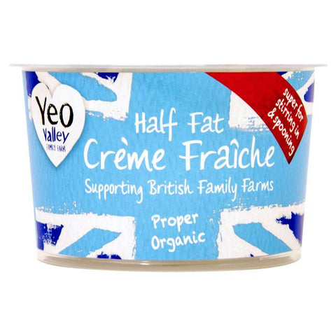 Yeo Valley Creme Fraiche (Half Fat) (200g)