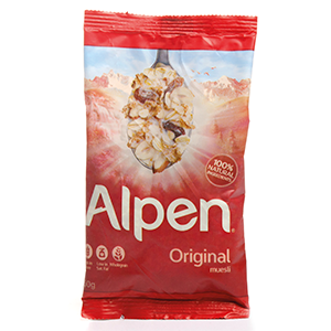ALPEN MUESLI (PORTIONS) (X30)