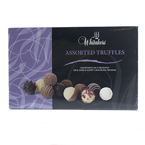 CHOCOLATES TRUFFLES (PLAIN, MILK, WHITE) (X77)