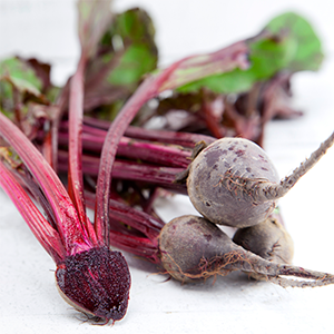 Baby Bunched Red Beetroot (Bunch)