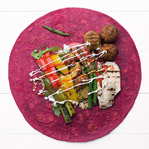 "BEETROOT WRAP 12"" (40'S)"
