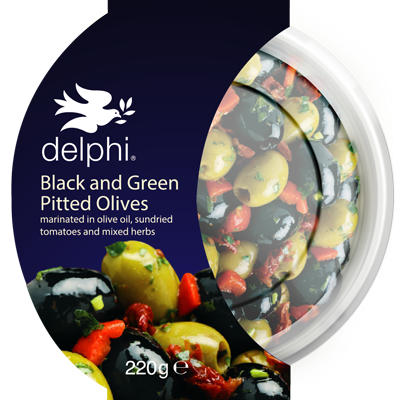 Black & Green Olives (240g)