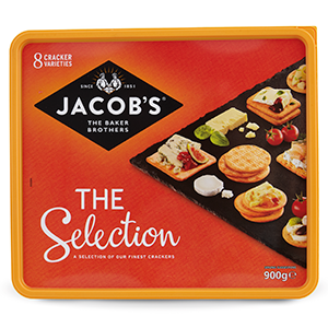 Jacobs Cheese Biscuits (900g)
