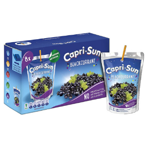 Capri Sun Blackcurrant (8x200ml)