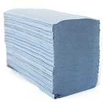 Blue Zfold Hand Towel 1 Ply (250 Sheet)