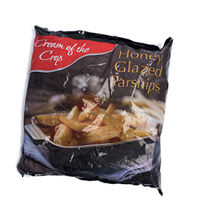 FROZEN HONEY GLAZED PARSNIPS (600G)