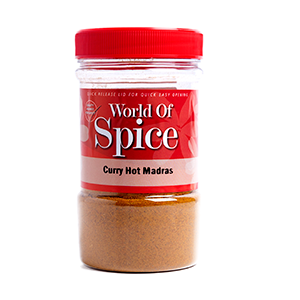 HOT CURRY POWDER (MADRAS) (400G)
