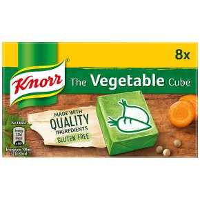 KNORR VEGETABLE STOCK CUBES (X8)