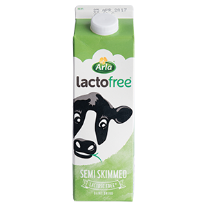 Semi Skimmed (Lactose Free) (1ltr)