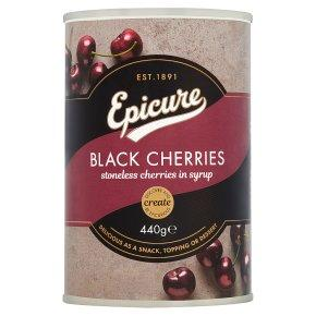 BLACK CHERRIES (TINNED)