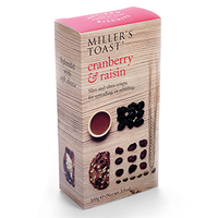 MILLERS CRANBERRY & RAISIN TOAST (100G)
