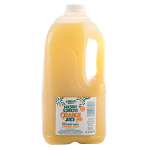 Fresh Orange Juice (2.27ltr)