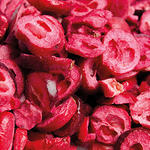 SLICED CRANBERRIES (FREEZE DRIED) (25G)