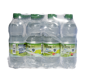 SPARKLING WATER PLASTIC BOTTLE (24X500ML)