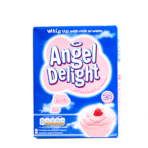 STRAWBERRY ANGEL DELIGHT (24 PORTIONS)