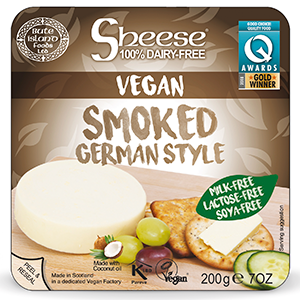 SMOKED GERMAN STYLE CHEESE (VEGAN) (200G)