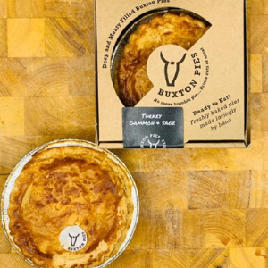 TURKEY, GAMMON & SAGE PIE (X1) (220G)