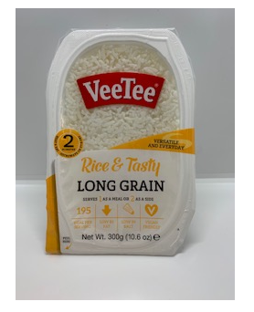 Veetee Long Grain Microwave Rice (300g)