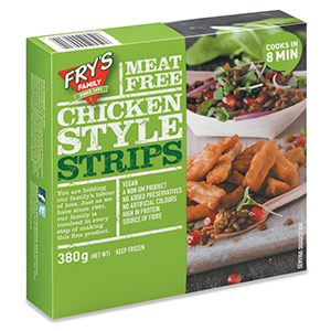 FROZEN CHICKEN STYLE STRIPS (VEGAN) (380G)